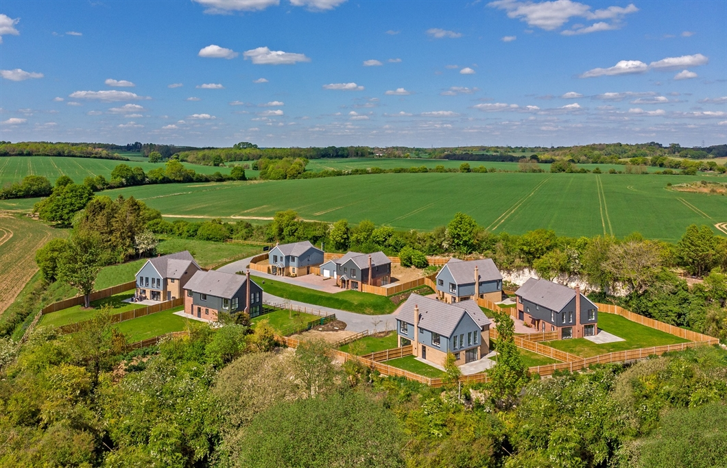 Lime Grove, Little Hadham, exclusive phased development of seven new homes
