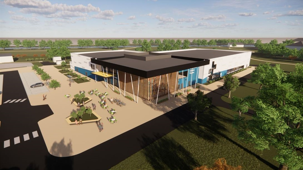 New Sports & Leisure Facilities at Rivermead Leisure Centre & Palmer Park Stadium