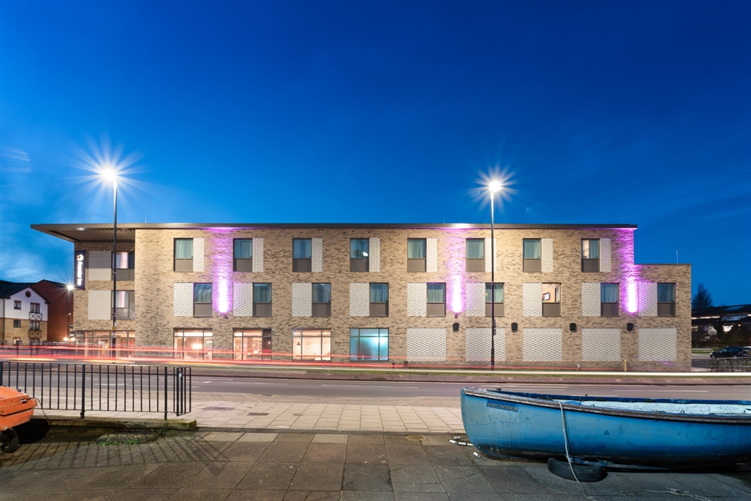 The striking new Premier Inn Hotel designed and delivered by Saunders Boston Architects is now complete and open to the public.